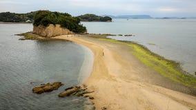 Strada di angelo nell'isola di shodoshima Fotografia Stock Libera da Diritti