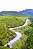 Strada di bobina delle alte montagne Immagine Stock Libera da Diritti