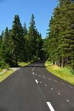 Strada di bobina lungo Maine Coast Immagini Stock Libere da Diritti