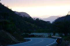 Strada di Canchaque - Piura - Perù Immagini Stock