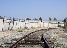 Strada di ferrovia Immagine Stock Libera da Diritti
