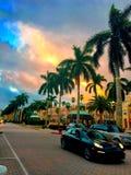 Strada di Florida fotografie stock libere da diritti
