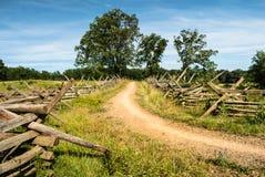 Strada di Gettysburg Fotografia Stock Libera da Diritti