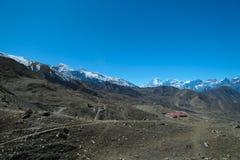 Strada di guida in Kagbeni, Nepal Immagine Stock