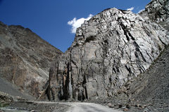 Strada di Karakorum Immagine Stock