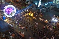 Strada di Khao San Fotografie Stock Libere da Diritti