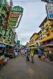 Strada di Khao San a Bangkok, Tailandia Immagine Stock Libera da Diritti