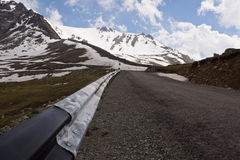 Strada di montagna Immagini Stock