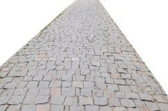 Strada di pietra Fotografia Stock Libera da Diritti