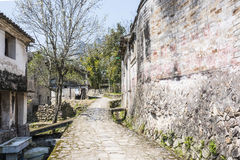 Strada di pietra Fotografia Stock