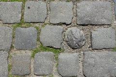 Strada di pietra antica Fotografia Stock Libera da Diritti
