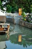 Strada di Pingjiang Fotografia Stock