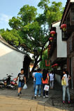 Strada di Pingjiang Fotografia Stock Libera da Diritti