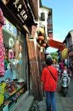 Strada di Pingjiang Fotografie Stock