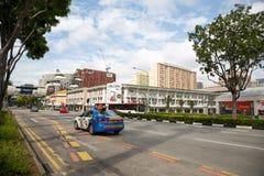Strada di ponte del nord a Singapore fotografia stock libera da diritti
