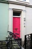 Strada di Portobello in Notting Hill, Londra immagine stock