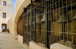 Rabat Cittadella in Gozo Malta. Strada di Rabat Cittadella in Gozo Malta stock images