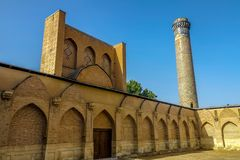 Strada 14 di Samarcanda Taškent fotografie stock