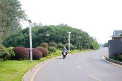 Strada di TaiCheng Fotografie Stock Libere da Diritti