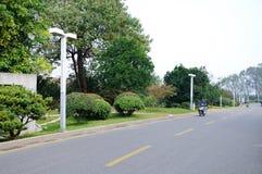 Strada di TaiCheng Fotografia Stock