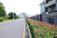 Strada di TaiCheng Immagini Stock