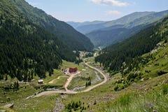 Strada di Transfagarasan, Romania Immagine Stock