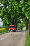 Strada di trasporto dell'automobile Fotografia Stock