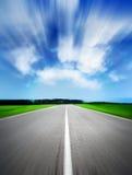 Strada di velocità Fotografia Stock