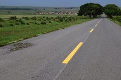 Strada a distanza Fotografia Stock Libera da Diritti
