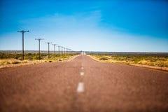 Strada a distanza Fotografia Stock