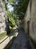 Strada dupa ziduri, Brasov stock photo
