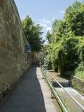 Strada dupa ziduri, Brasov Royalty Free Stock Image