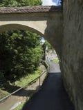 Strada dupa ziduri, Brasov Stock Images