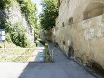 Strada dupaziduri, Brasov Royaltyfri Foto