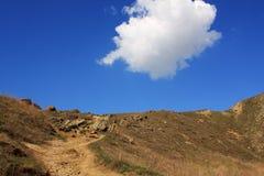 Strada dura a cielo. Foto 9102 Fotografie Stock