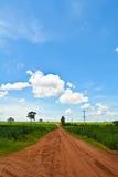 Strada e cielo Immagini Stock Libere da Diritti