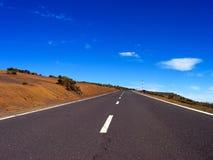 Strada e cielo Immagine Stock Libera da Diritti