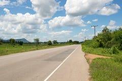 Strada e cielo Fotografia Stock Libera da Diritti