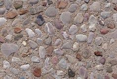 Strada fatta delle pietre di colore Fotografia Stock Libera da Diritti