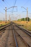 Strada ferroviaria immagine stock