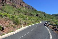 Strada, Gran Canaria Fotografia Stock