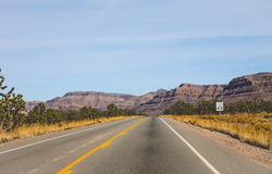 Strada a Grand Canyon Fotografia Stock Libera da Diritti