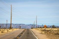 Strada a Grand Canyon Fotografie Stock