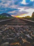 Strada illimitata fotografia stock