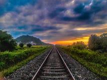 Strada illimitata fotografie stock libere da diritti