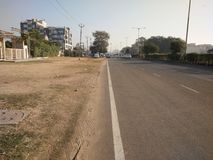 Strada indiana Fotografia Stock