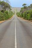 Strada infinita Fotografia Stock