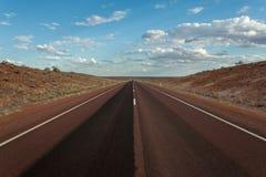 Strada infinita Fotografia Stock Libera da Diritti