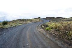 Strada islandese Fotografia Stock