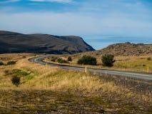Strada islandese Immagini Stock
